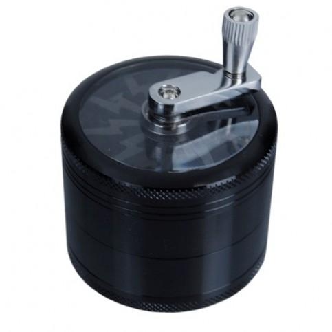 Drvička 4 dielna mlynček čierna