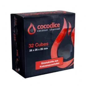 Kokosové uhlie do vodnej fajky Cocodice C26 - 0,5 kg