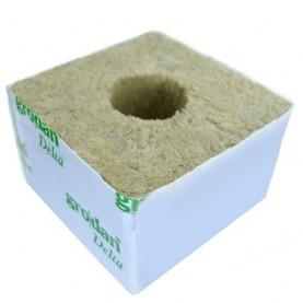 Grodan sadbovacia kocka 10x10x6,5 cm s veľkou dierou - sadbovacie médium