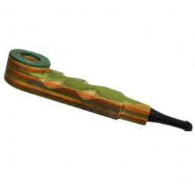Šlukovka mini fajka Drevená color 03
