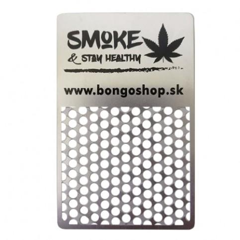 Grinder card weed - drtička karta