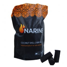 Uhlíky do vodnej fajky Narine Hexagon 1kg