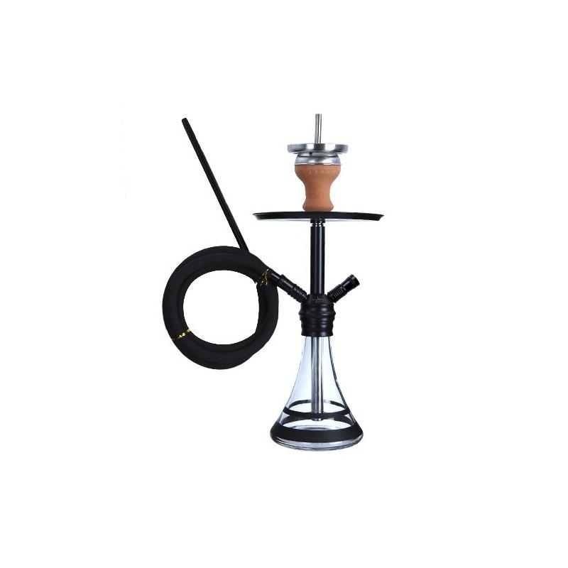 Vodná fajka DUD Micro Space Needle čierna 40cm