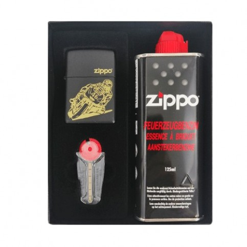 Zippo Set Motorkár