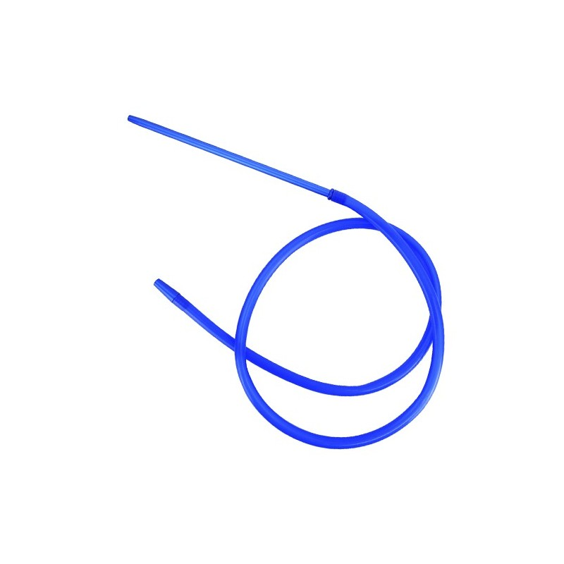 Hadica na vodnú fajku Silicone Blue