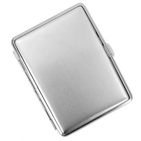 Púzdro na cigarety silver matt slim 18