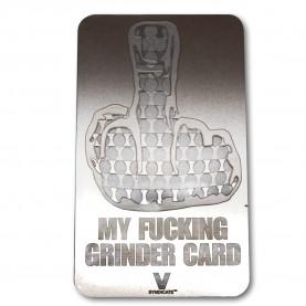 My Fucking Grinder Card