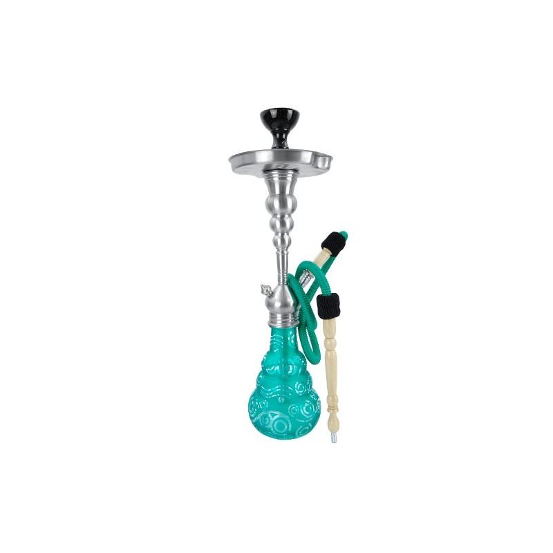 Vodná fajka Aladin Roy 20 - Zelená 56 cm