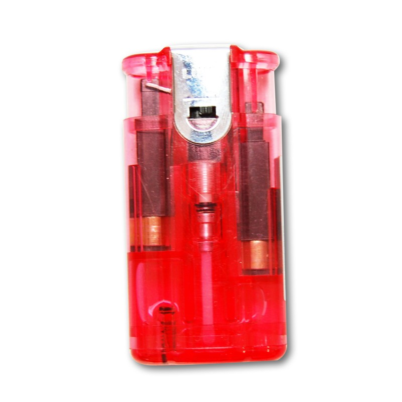 Zapaľovač – Lux Softflame/Jet (Red)