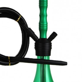 Vodná fajka Bullet Shisha green 47 cm