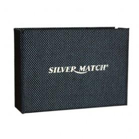 Fajkový zapaľovač s príborom Silver Match - silver