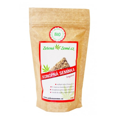 Konopné semienko lúpané 500 g