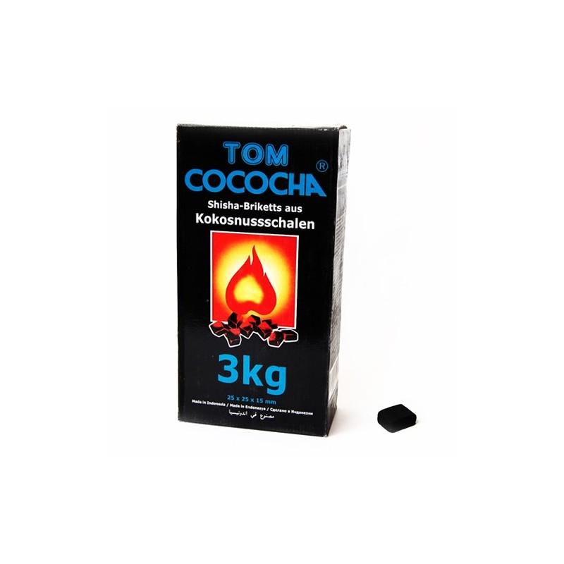 Uhlie do vodnej fajky Tom Coco blue 3kg