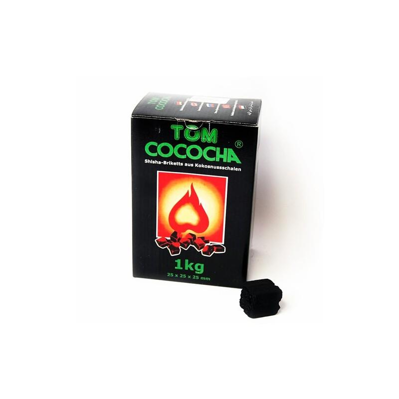 Uhlíky do vodnej fajky Tom Coco 1kg