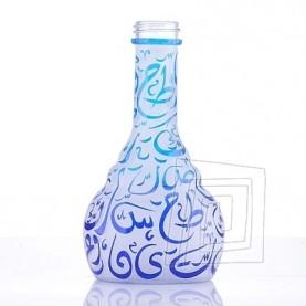 Váza pre vodné fajky Aladin Kairo 30 cm modro – tyrkysová