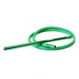 Hadica na vodnú fajku Silicone Green