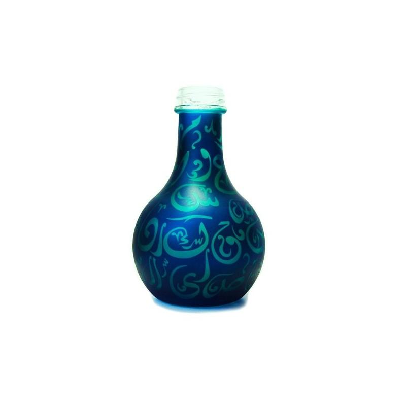 Váza pre vodné fajky Aladin Karachi 24 cm modro – tyrkysová
