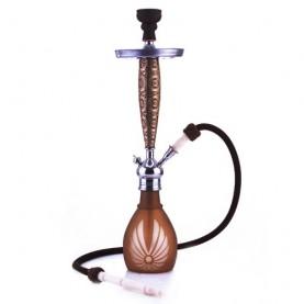 Vodná fajka Aladin Bangkok 69 cm hnedá