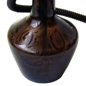 Vodná fajka Damaskus 65cm (čierna)
