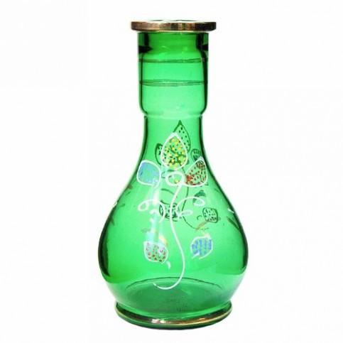 Váza pre vodné fajky zelená 26