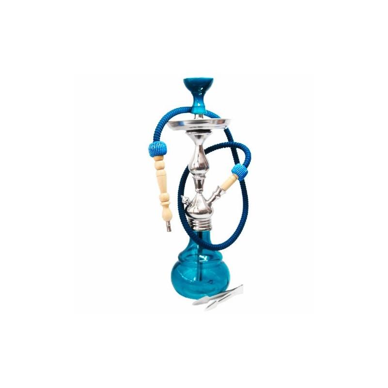 Vodná fajka Barcelona 52 cm - tyrkis