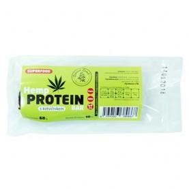 Konopná proteinová tyčinka s kotvičníkom