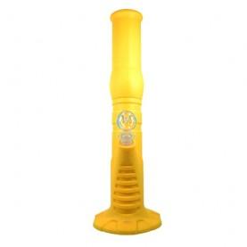 Bong silikónový na ľad 36 cm - žlté