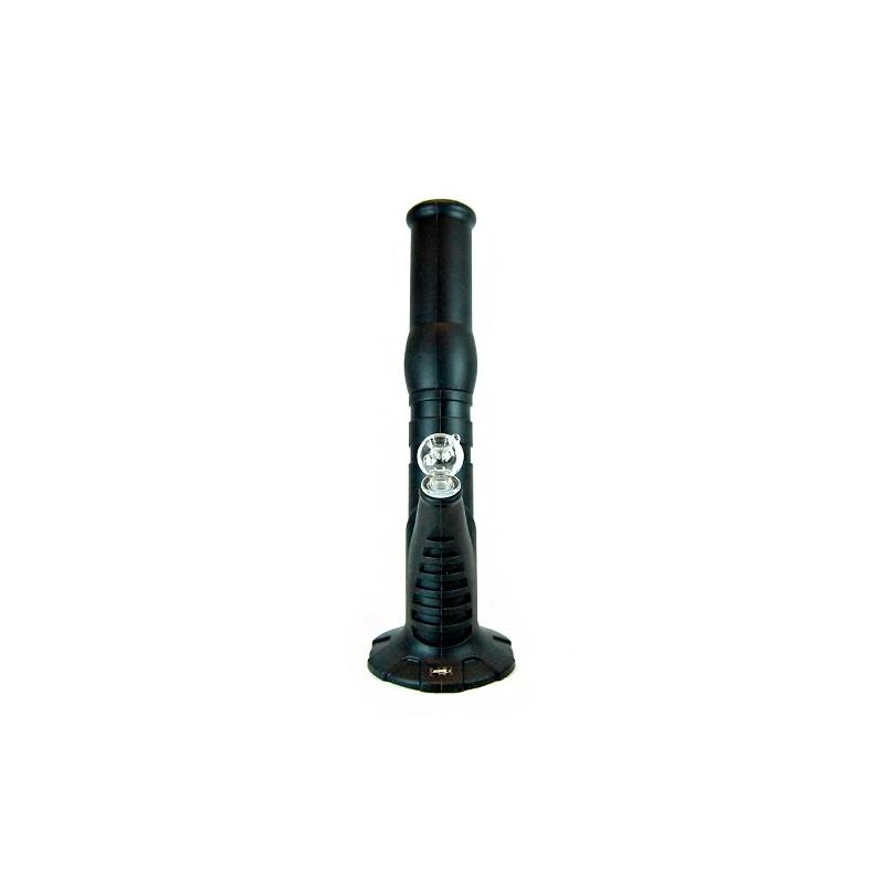 Bong silikón na ľad 36 cm - čierne