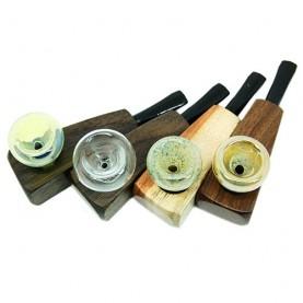 Šluková fajka Kombi - Drevo Pyrex