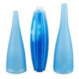 Chladivý náustok Bazooka na hadicu vodnej fajky - modrý