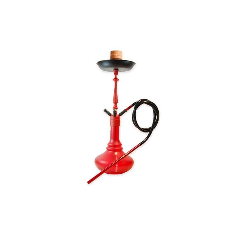Vodná fajka Bullshit Shisha Red 72 cm
