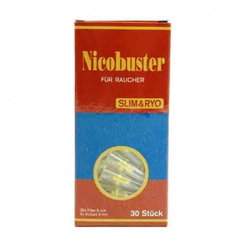 Cigaretová špička s filtrom Nicobuster slim 30ks