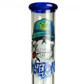 Sklenené bongo Dope Bros Amster modrý
