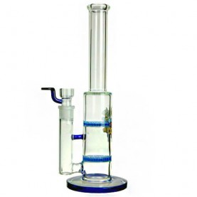 Bong sklo Black Leaf honeycom 32 cm