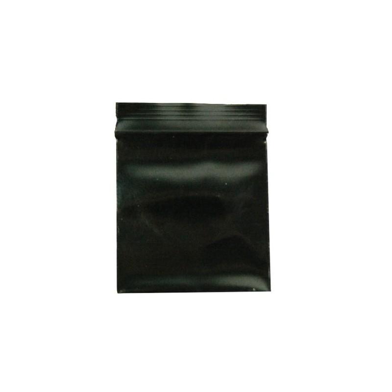 Zip sáčok čierny 35x35mm