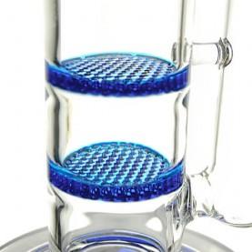 Bong sklo GG blue Honeycomb