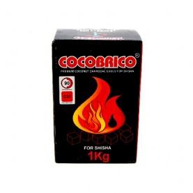 Kokosové uhlie Cocobrico 1kg (do vodnej fajky)