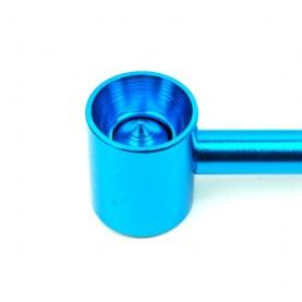 Šlukovka mini fajka bez sitka 10,5 cm v tmavom modrom farebnom prevedení - detail kotlíka