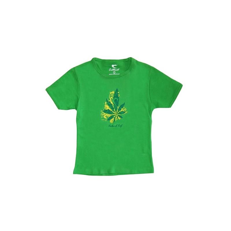 Tričko Natural High - Zelené