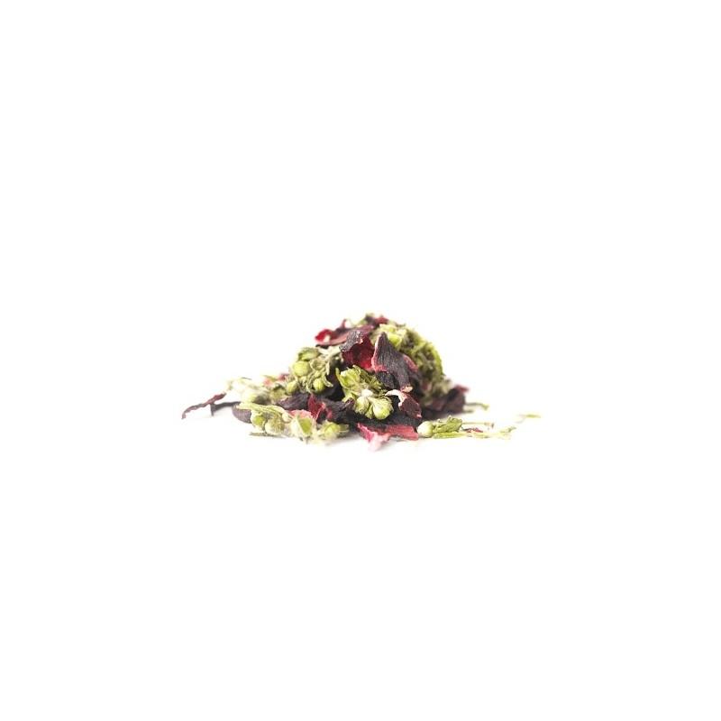 Konopný čaj s Ibištekom 50g