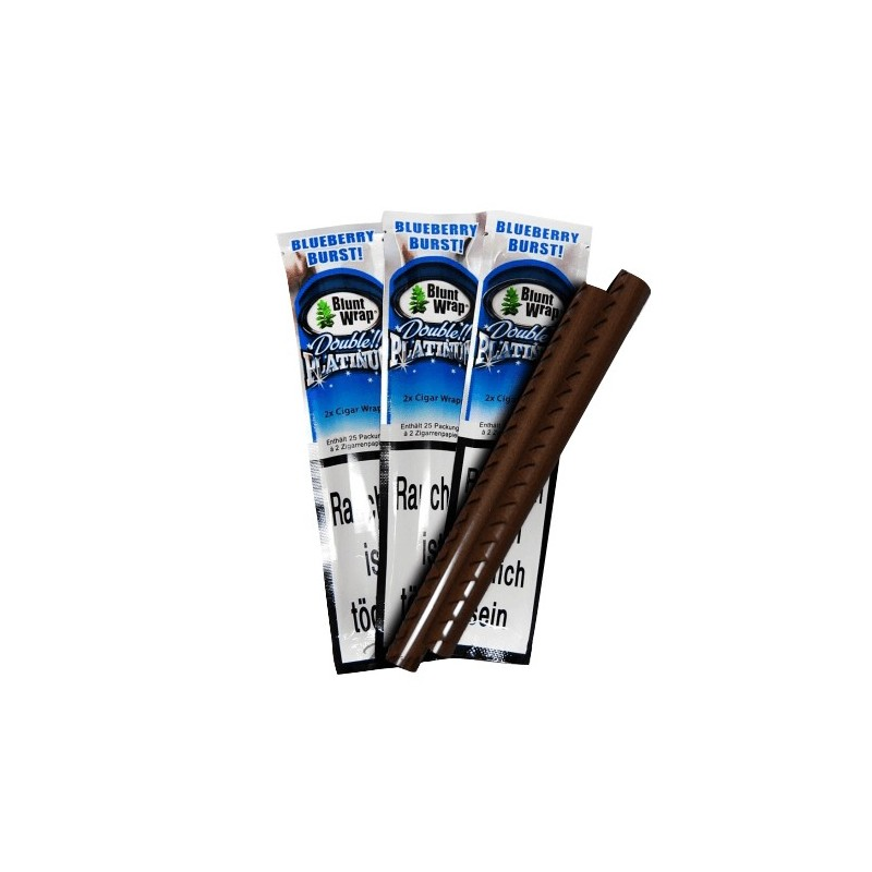 Blunty Platinum – BLUE (Blueberry Burst)