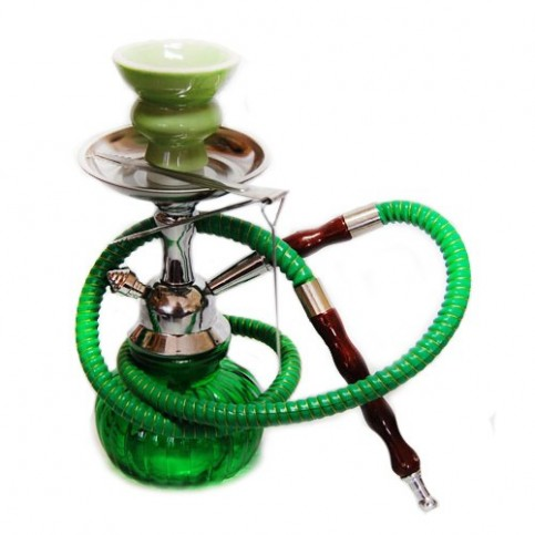 Vodná fajka Smoke mini - zelená
