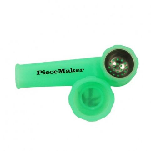 Silikónová šlukovka so sitkom a štuplom - Green