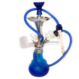 Vodná fajka Aladin Bogota 48 cm modro-tyrkysová