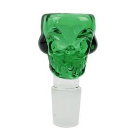 Šluk na bong skull green