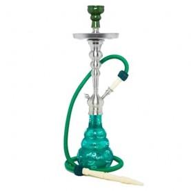 Vodná fajka Aladin Saigon 65 cm zelená