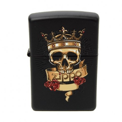 Zapaľovač ZIPPO king skull
