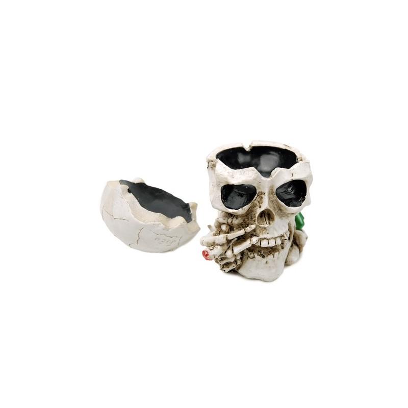 Popolník keramický lebka s jointom