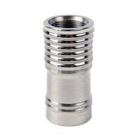 Redukcia na hadicu vodnej fajky Bullshit - silver