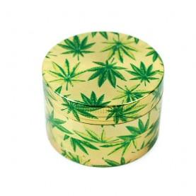 Grinder drvička 4dielna Marihuana leaf